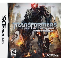 Foto Jogo Transformers Dark Of The Moon Decepticons Activision Nintendo DS