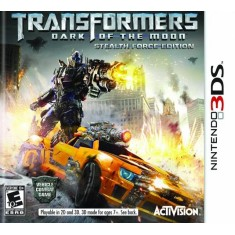 Foto Jogo Transformers Dark Of The Moon Stealth Force Activision Nintendo 3DS