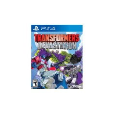 Foto Jogo Transformers Devastation PS4 Activision