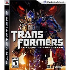 Foto Jogo Transformers: Revenge Of The Fallen PlayStation 3 Activision