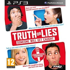 Foto Jogo Truth or Lies: Someone Will Get Caught PlayStation 3 THQ
