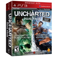 Foto Jogo Uncharted Dual Pack PlayStation 3 Sony