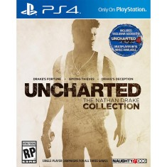 Foto Jogo Uncharted The Nathan Drake Collection PS4 Naughty Dog