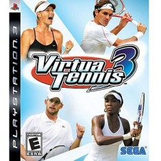 Foto Jogo Virtua Tennis 3 PlayStation 3 Sega