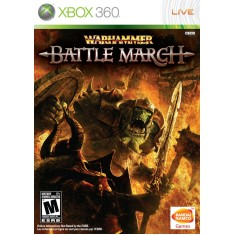 Foto Jogo Warhammer Battle March Xbox 360 Bandai Namco