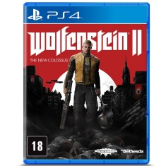 Foto Jogo Wolfenstein II The New Colossus PS4 Bethesda