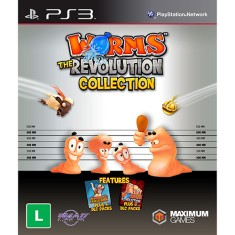 Foto Jogo Worms: The Revolution Collection PlayStation 3 Maximum Family Games