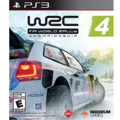 Foto Jogo WRC 4: Fia World Rally Championship PlayStation 3 Maximum Family Games