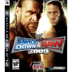 Foto Jogo WWE Smackdown Vs. Raw 2009 PlayStation 3 THQ