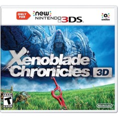 Foto Jogo Xenoblade Chronicles 3D New Nintendo 3DS XL