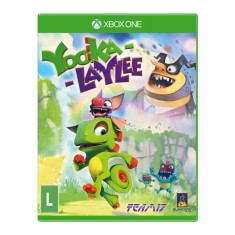 Foto Jogo Yooka-Laylee Xbox One Playtonic Games