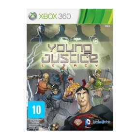 Foto Jogo Young Justice: Legacy Xbox 360 Majesco Entertainment