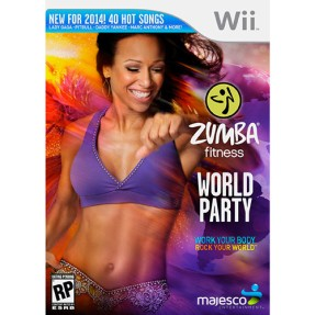 Foto Jogo Zumba Fitness: World Party Wii Majesco Entertainment