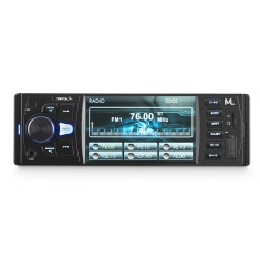 "Foto Media Receiver Multilaser 4 "" Rock P3325 Bluetooth USB"