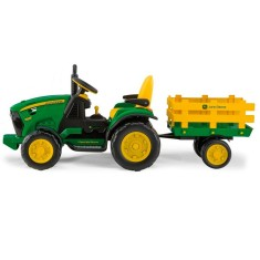 Foto Mini Trator Elétrico John Deere Ground Force - Peg-Pérego