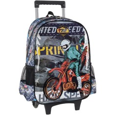 Foto Mochila com Rodinhas Escolar Luxcel Team Racing 6 IC31292MT
