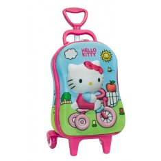 Foto Mochila com Rodinhas Escolar Max Toy by Diplomata Hello Kitty 2823p16