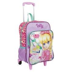 Foto Mochila com Rodinhas Escolar Sestini Polly Pocket Polly 17M Plus G 64660