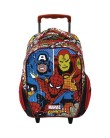 Mochila com Rodinhas Escolar Xeryus Marvel Comics Legends 16 6310