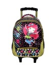 Mochila com Rodinhas Escolar Xeryus Moranguinho Life, Joy and Fun 14 5661