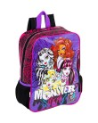 Mochila Escolar Sestini Monster High 13 Litros Monster High G 063024