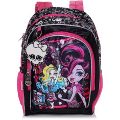 Foto Mochila Escolar Sestini Monster High 17 Litros Monster High 15Y01 G