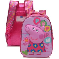 Foto Mochila Escolar Xeryus Peppa Pig Colorful 16