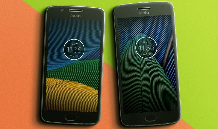 Moto G5 vs Moto G5 Plus