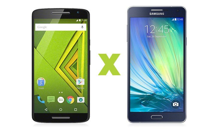 Moto X Play ou Galaxy A7