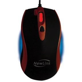 Foto Mouse Óptico Gamer USB Game Fire MG-201 - New Link