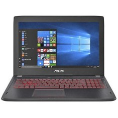 "Foto Notebook Asus FX 502 VM Intel Core i7 7700HQ 15,6"" 24GB HD 1 TB GeForce GTX 1060 SSD 500 GB"
