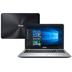 "Foto Notebook Asus X555UB Intel Core i7 6500U 15,6"" 8GB HD 1 TB GeForce 940M"