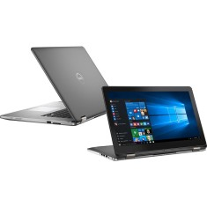 "Foto Notebook Dell i15-7568-A20 Intel Core i7 6500U 15"" 8GB HD 1 TB Híbrido"