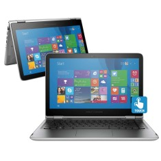 "Foto Notebook HP 13-S104BR Intel Core i5 6200U 13,3"" 8GB HD 1 TB Touchscreen"