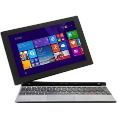"Foto Notebook Positivo ZX 3020 Intel Atom Z3735G 10,1"" 1GB SSD 16 GB Touchscreen"
