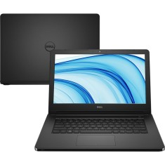 "Foto Notebook Dell I14-5458-D08P DVD Intel Core i3 5005U 14"" 4GB HD 1 TB"