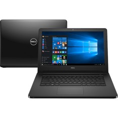 "Foto Notebook Dell i14-5458-B30 Intel Core i5 5200U 14"" 4GB HD 1 TB"