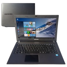 "Foto Notebook HP Compaq Presario Intel Celeron N2820 2GB de RAM HD 500 GB 14"" Windows 10 CQ23"
