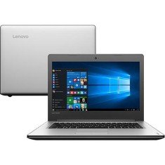 "Foto Notebook Lenovo IdeaPad 300 Intel Core i7 6500U 6ª Geração 8GB de RAM HD 1 TB 14"" Windows 10 Home 310"