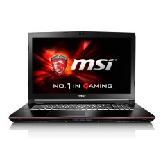 "Foto Notebook MSI GE72 6QC Apache Intel Core i7 6700HQ 17,3"" 8GB HD 1 TB GeForce GTX 960M"