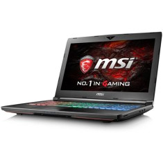 "Foto Notebook MSI GT72VR Intel Core i7 7700HQ 17,3"" 16GB HD 1 TB GeForce GTX 1070 Híbrido"
