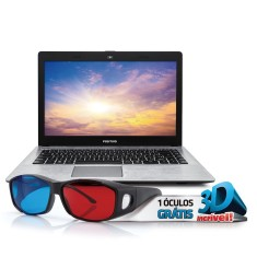 "Foto Notebook Positivo XRi3210 Intel Celeron N2806 14"" 4GB HD 500 GB"