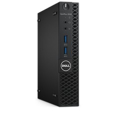 Foto PC Dell Optiplex 3040 Micro Intel Pentium G4400T 4 GB 500 Linux USB 3.0