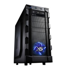 Foto PC X5 Gamer 4153 Intel Core i5 4460 8 GB 1 TB Windows 8.1 DVD-RW