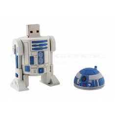 Foto Pen Drive Importado 8 GB USB Star Wars R2-D2