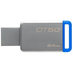 Foto Pen Drive Kingston Data Traveler 64 GB USB 3.1 DT50/64GB