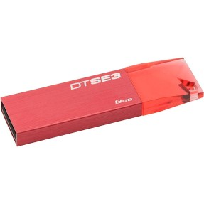 Foto Pen Drive Kingston Data Traveler 8 GB USB 2.0 DTSE3 KC-U688G-4CR