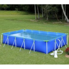 piscina de plastico 6 mil litros quadrada