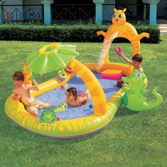 Foto Piscina Inflável 300 l Retangular Bestway Jungle Safari 53030