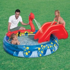 Foto Piscina Inflável 330 l Redonda Bestway Vicking 53033